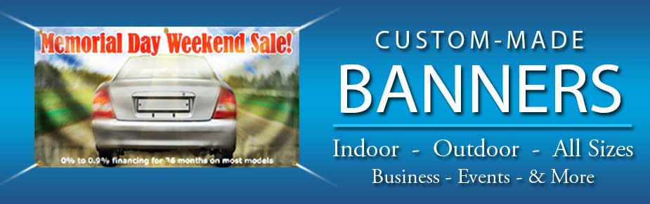 Vinyl Banner Printing And Signs BannersOntimecom - Custom vinyl signs online