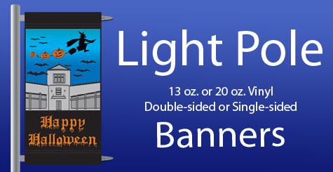 Banners Light Post Light Pole Street Lamp