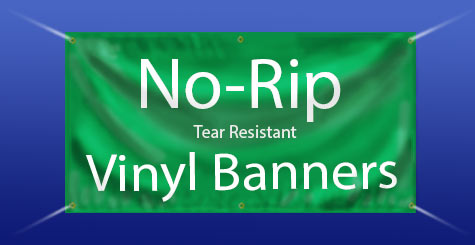 vinyl banners strong tear resistant no rip banners